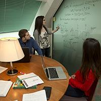 The writable partitions allow students to share ideas and solutions in a clear, efficient manner.
