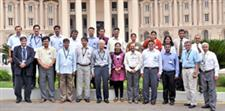 ECE Professor Emeritus N. Narayana Rao spent the summer teaching forty faculty members of colleges in India. He is pictured here (fifth from the left in the front row) with the group he taught in Mysore.