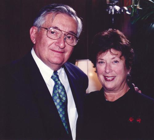 Mickey Kupperman, left, and Sidney Epstein