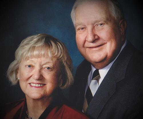 Audrey and Gerald Olson