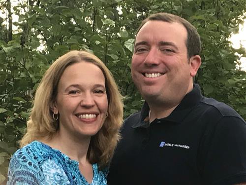 Karen and Andrew Martin